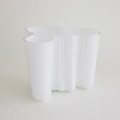 【一点物】Alvar Aalto Savoy Vase 3030 White 1960's/フィンランド買付品