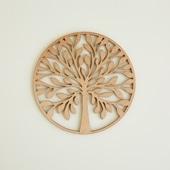 木製コースター tree