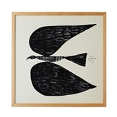 【定番品】山口一郎 「Black bird no.1」