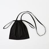 Drawstring Bag Strap ブラック SS