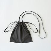 Drawstring Bag Strap グレー SS