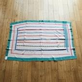 【一点物】ヴィンテージ ラリー キルト 112×168 【no3238】