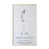 アルベルト・ジャコメッティ 「Fondation Maeght, Dessin II - 1978」