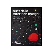 ジョアン・ミロ 「NUITS DE LA FONDATION 1967」
