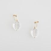 sai Earring Crystal Quartz