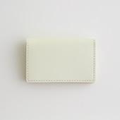 Hender Scheme folded card case ホワイト