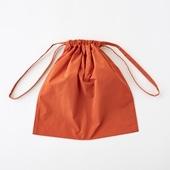 Drawstring Bag オレンジ