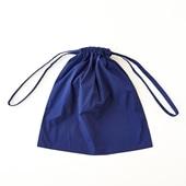 Drawstring Bag ブルー