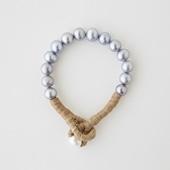 sai Bracelet Gray Pearl