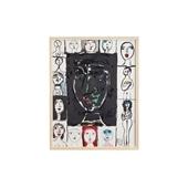 猪熊弦一郎 「Faces」A/Rare ART POSTER展 feat. NIPPON