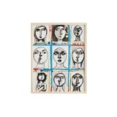 猪熊弦一郎 「Faces」B/Rare ART POSTER展 feat. NIPPON