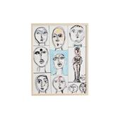猪熊弦一郎 「Faces」C/Rare ART POSTER展 feat. NIPPON