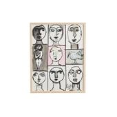 猪熊弦一郎 「Faces」D/Rare ART POSTER展 feat. NIPPON