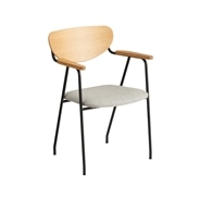�y�ʐ^�zDJANGO ARM CHAIR Black